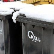 Entsorgung von Restabfall in der kalten Jahreszeit