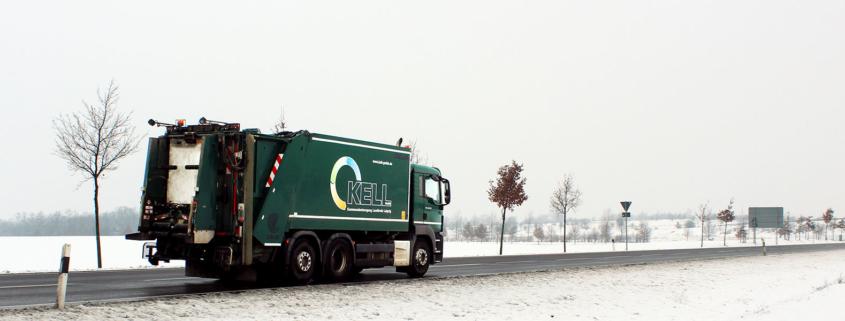 Informationen zur Abfallentsorgung bei winterlicher Witterung